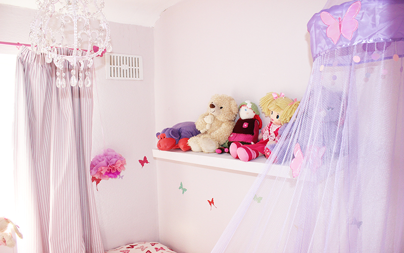 Childrens bedroom designer_Kids room designer london_purple room_ butterfly themed room