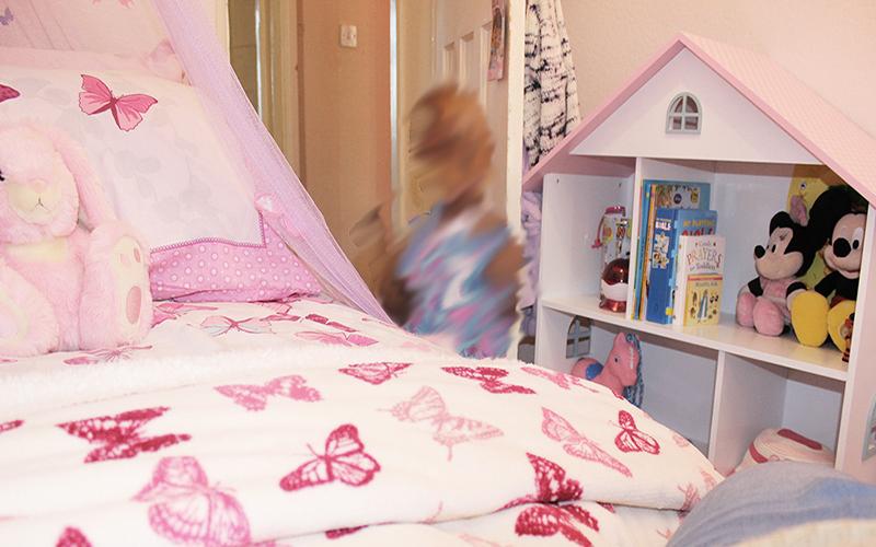 Childrens interior designer London_Kaitlyns Bedroom_girls bedroom design_small room design_box room design_purple room_MK kids Interiors
