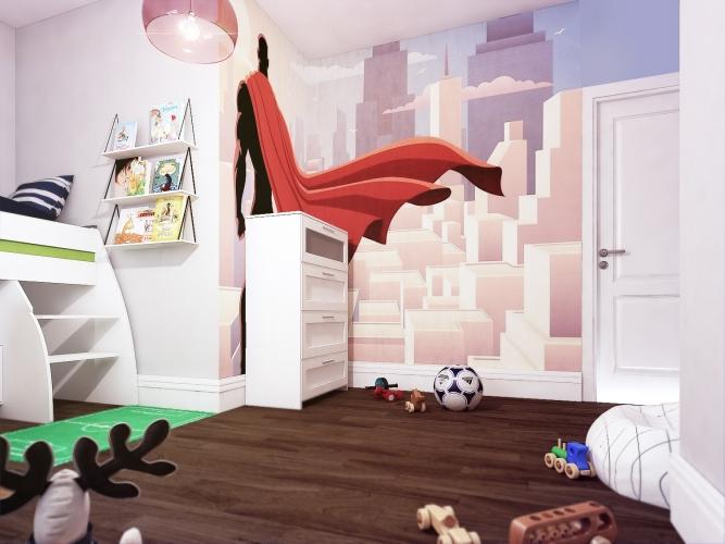 Philips room design_superhero themed bedroom_ boys bedroom ideas_MK Kids Interiors