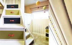 Boys bedroom in Cheslea_ Grosvenor Waterside_Childrens Interior Designer London_ High End Kids Bedroom_bespoke