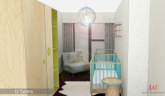 Unisex-Twins-nursery-design_MK-Kids-Interiors-blue-and-green-nursery_blue-and-green-colour-scheme_-Render-2
