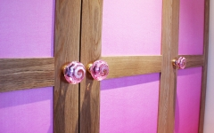 bespoke wardrobe for kids rooms_childrens interior designer london_colourfult nursery_ pink room