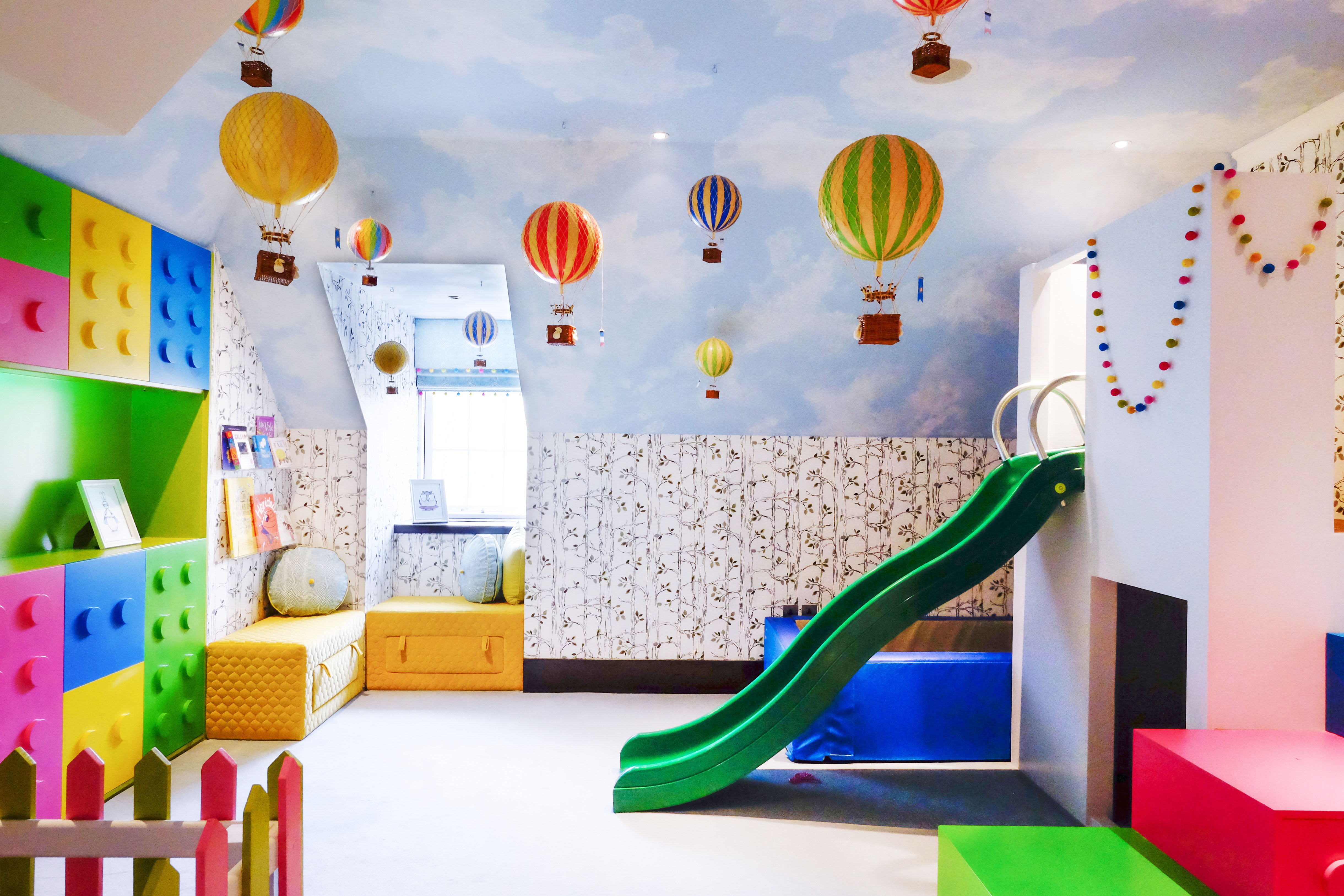 Authentic Model Hot Air Balloon Mobile Mk Kids Interiors