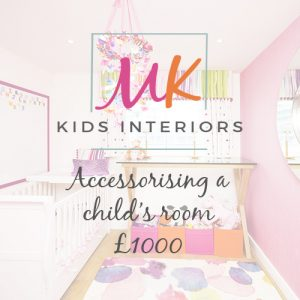 MK Kids Interiors Design Services Interior styling Child's Room for £1000