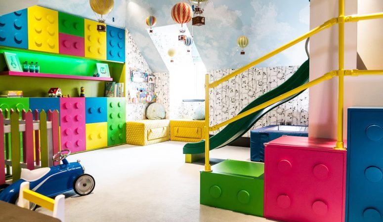 A Colourful Unisex Playroom