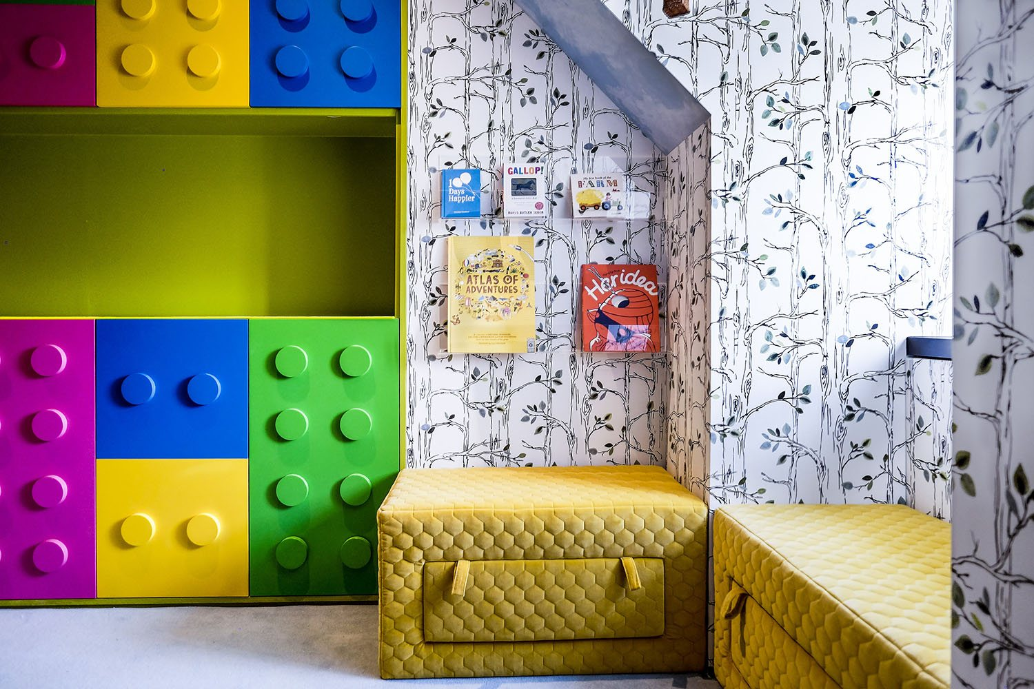 Encourage reading with a reading corner