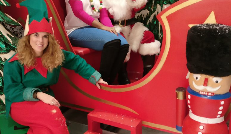 MK Kids Interiors at Purple Dragon Play- with santa father christmas