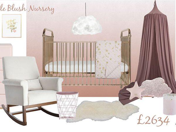 Blush and Gold Mood board_Nursery interior_MK Kids Interiors