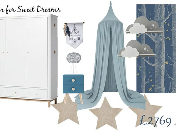 Boys Bedroom Board-A room for sweet dreams-Interior Design for Children-MK Kids Interiors