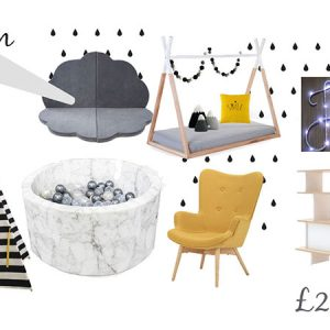 Monochrome Playroom_Making Monchrome-yellow room-childrens interiors-mk kids interiors