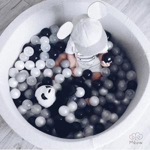 Meow grey ball pool