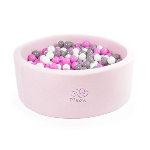 light pink ball pool_ball pit