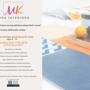 MK Kids Interiors Interior Design workshop