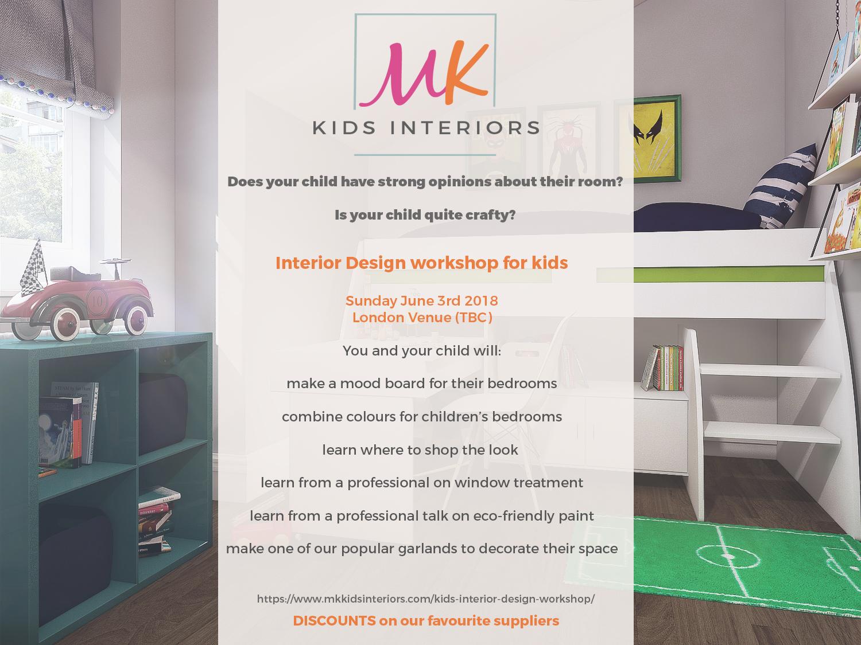 Interior design workshop for children