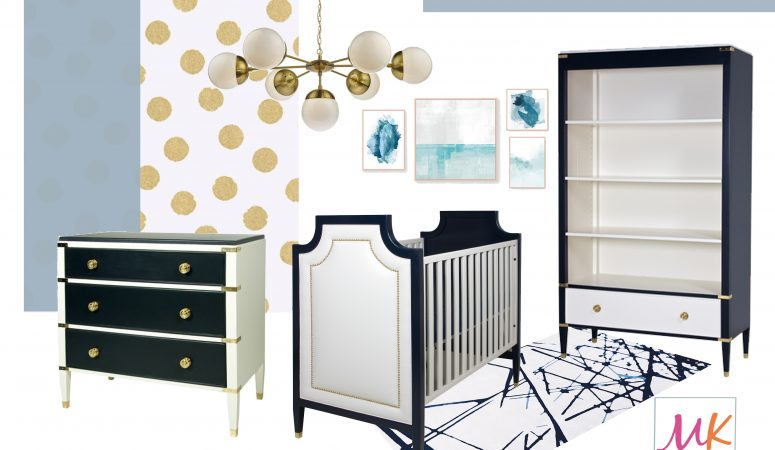 Royal Baby Boy Modern Nursery
