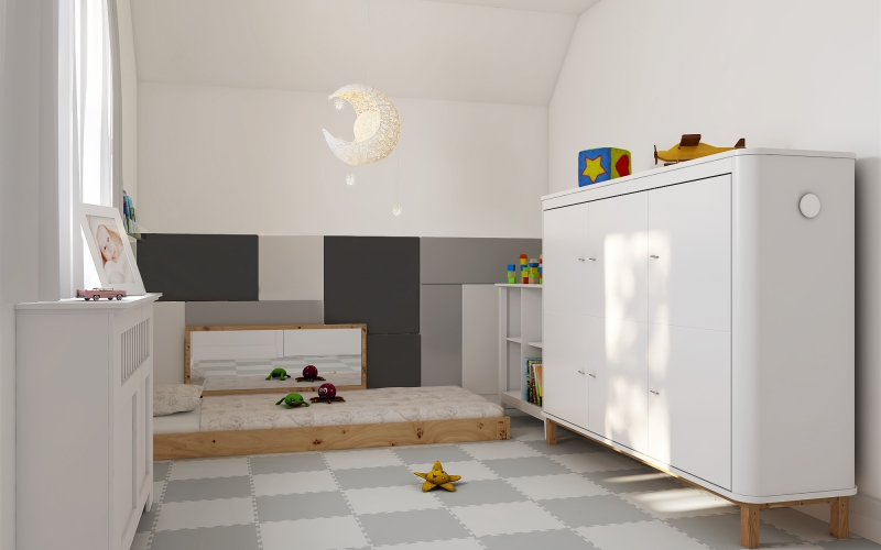 Ethans bedroom 3D Visual