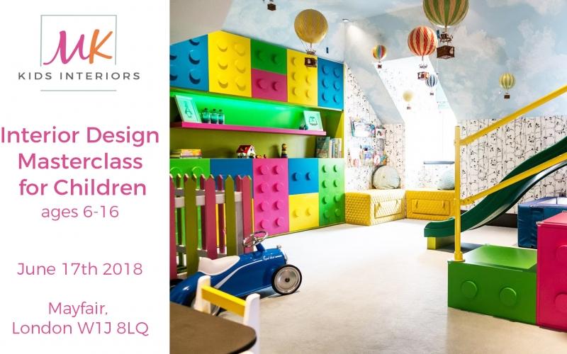 Web_Interior Design Masterclass for children by MK Kids Interiors_landscape poster