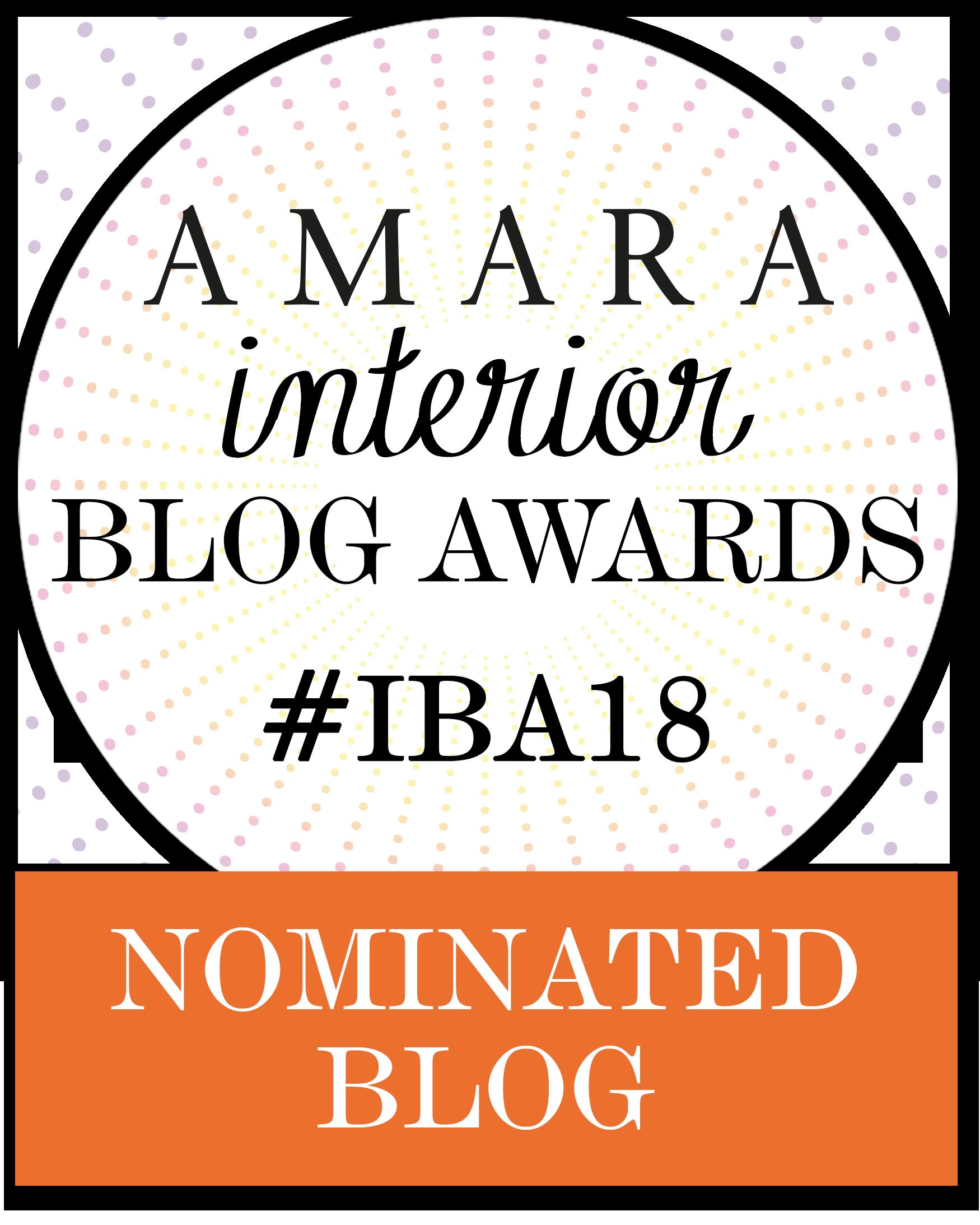 2018 Amara Interior Blog Awards