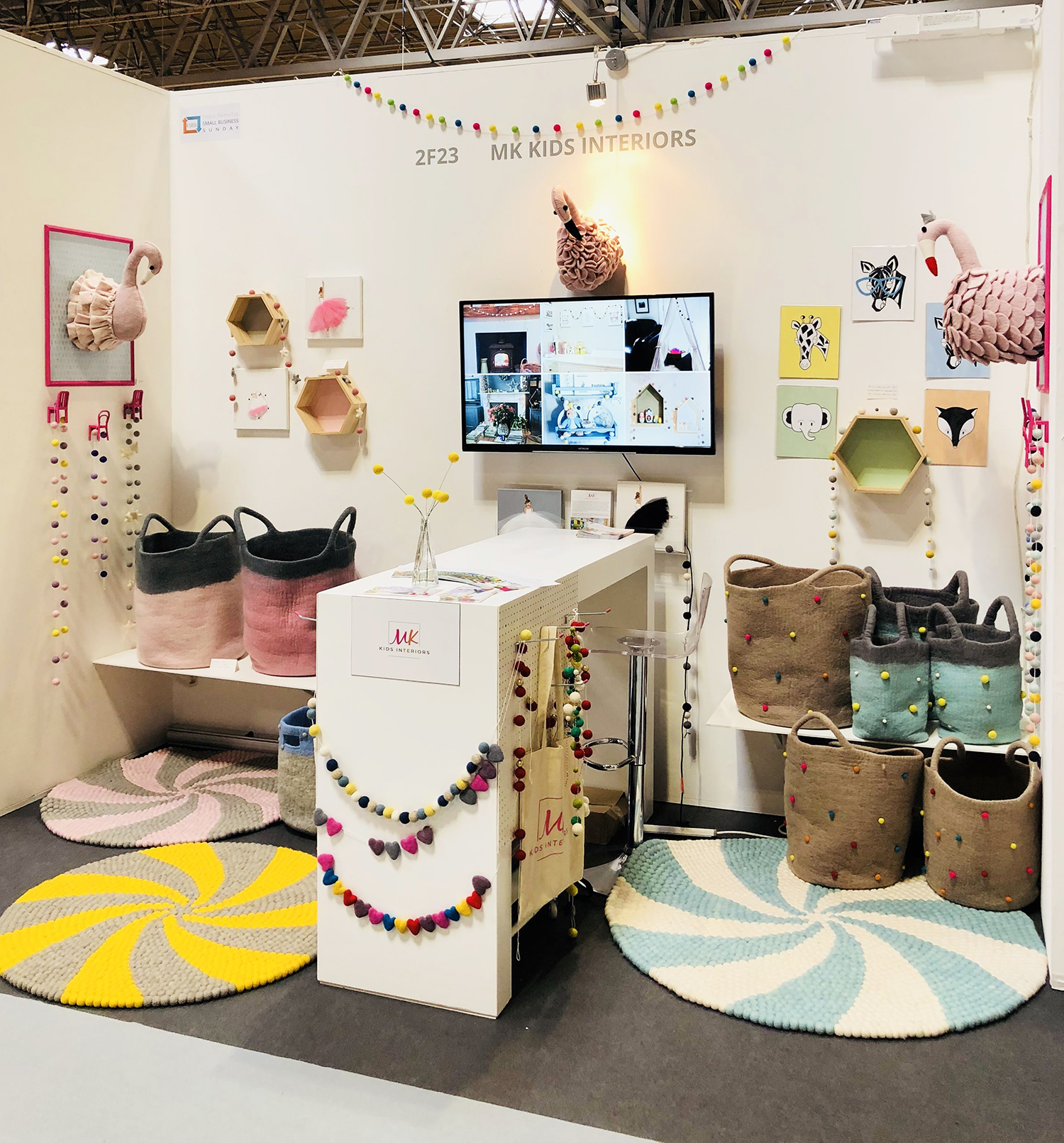 MK Kids Interiors_Autumn Fair Stand