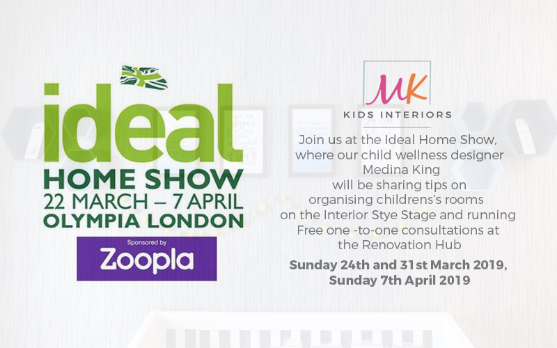 Ideal Home Show Slider for MK Kids Interiors