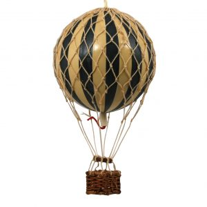 Black Hot Air Balloon