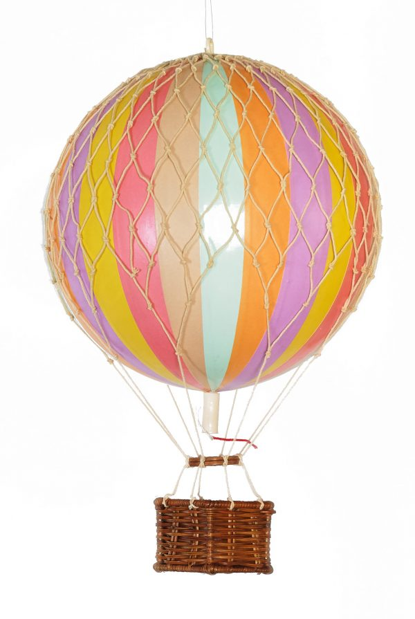 Authentic Model Hot Air Balloon - Rainbow Pastel