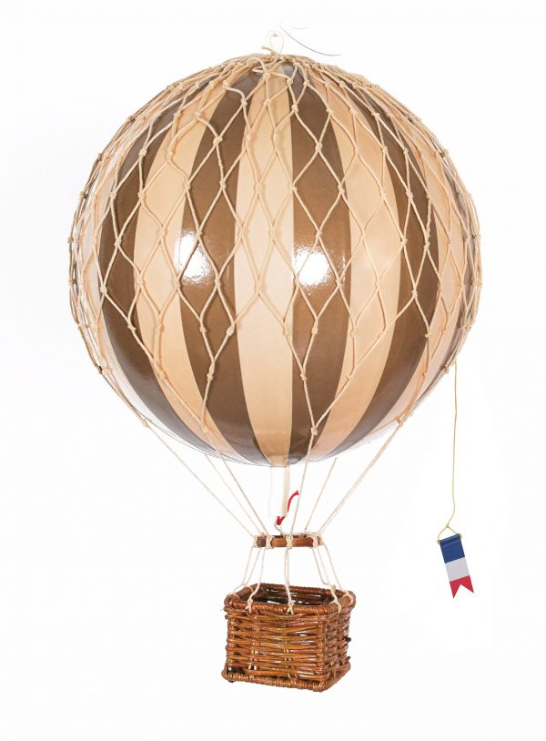 White Authentic Model Hot air balloon
