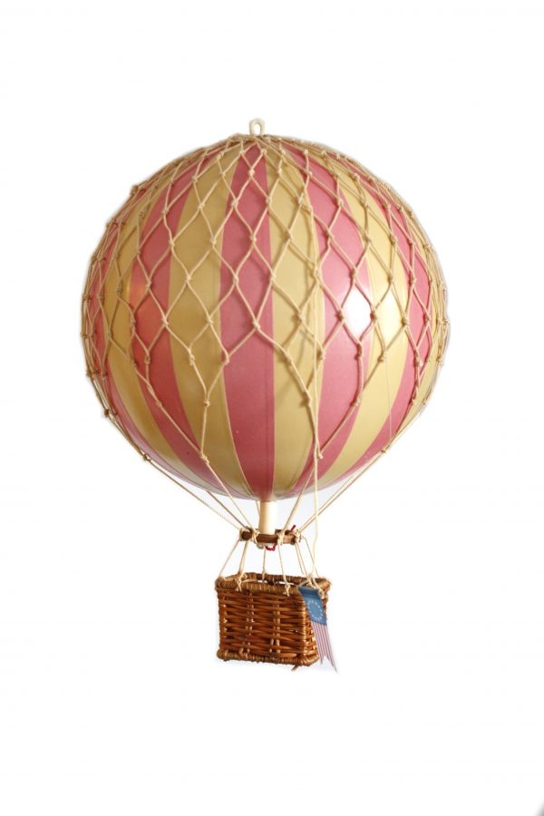 Authentic Model Pink Hot air Balloon