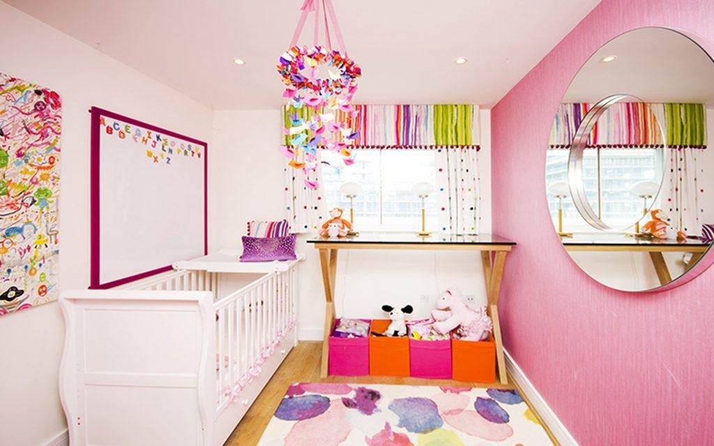Colourful Girls Nursery