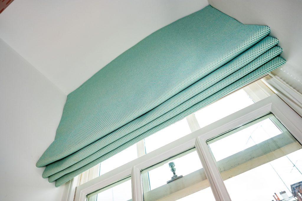 Lipari Turquoise 04890 Roman Blind-Girls Bedroom Blind-MK Kids Interiors