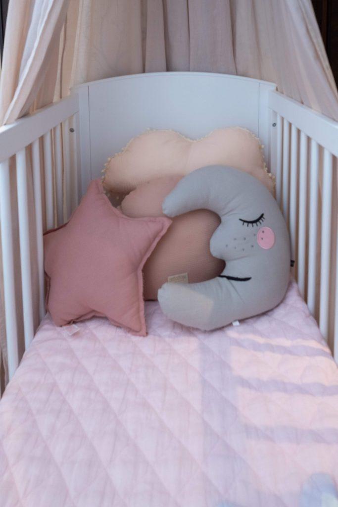 baby girls nursery-nursery cushions-MK Kids Interiors