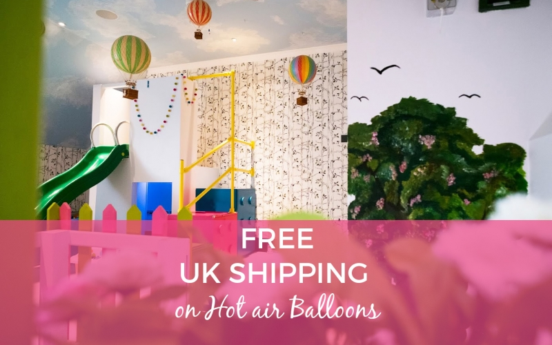 FREE UK DELIVERY ON AUTHENTIC MODEL HOT AIR BALLOONS