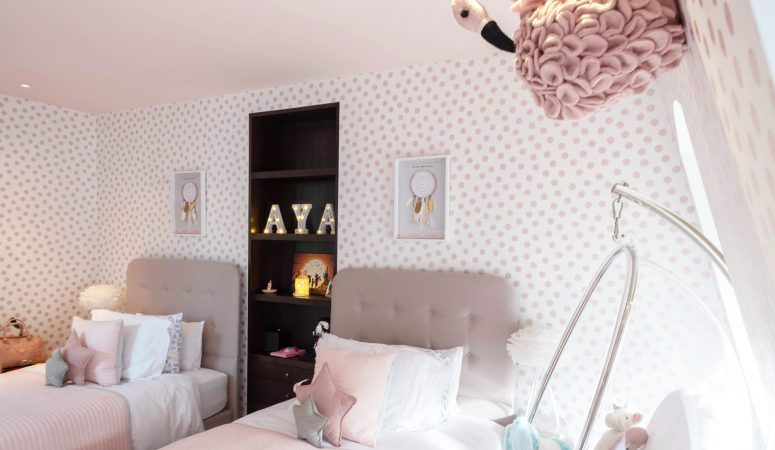 Twin Girls' Bedroom