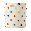 Pehr Design- Multi colour Pom Pom Storage Storage Bin- MK Kids Interiors