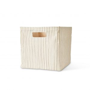 Pehr Design_Stripes Away Cube_Pebble-MK Kids Interiors-Storage cubes