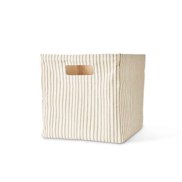 Pehr Design_Stripes Away Cube_Pebble-MK Kids Interiors-Storage cubes
