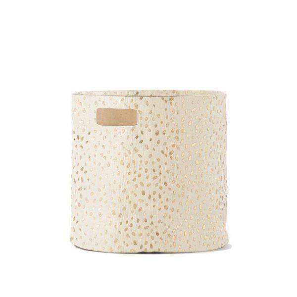 Pehr Design Gold Speck Storage Bin MK Kids Interiors