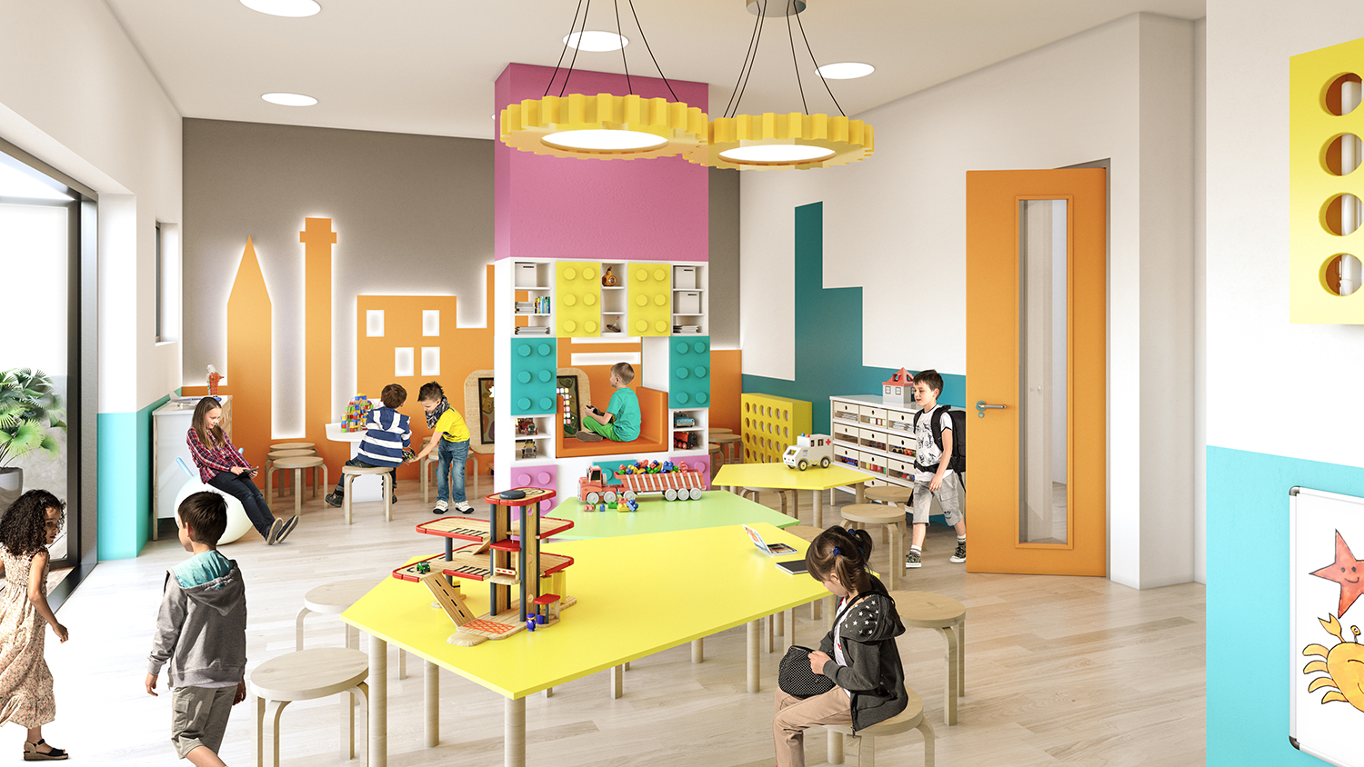 Little Pumpkins Day Nursery Design – East Croydon