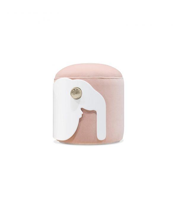 pink Elephant animal stool